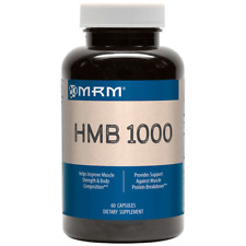 NEW HMB 1000 MRM ANABOLIC SUPPLEMENT ATHLETE POWER MUSCLE MAINTENANCE 60 CAPS