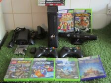 Xbox 360 Slim 250GB Console Bundle With  Games