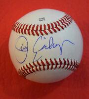 Juan Eichelberger Signed Autographed Baseball San Diego Padres Rare Tough Sig