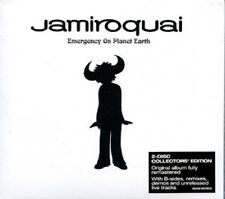 Jamiroquai-Emergency On Planet Earth (remastered) 2 CD/Discoteca Dance NUOVO