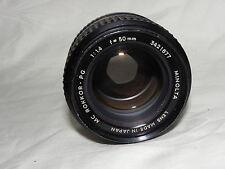 Objektiv Minolta MC 50mm 1:1.4 ROKKOR-PG Bajo. (für Minolta XG-1)