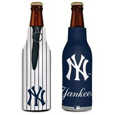 NEW YORK YANKEES 2 SIDED BOTTLE COOLER/KOOZIE NEW AND OFFICIALLY LICENSED
