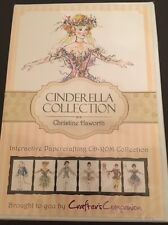 Crafters Companion Cinderella Collection CD-ROM - New Paper Craft Cd Haworth