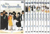 UNE VIE NOUVELLE ... L'INTEGRALE DE LA SERIE ... MITSURU ADACHI ... LOT 10 DVD