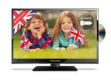 """FERGUSON 16"""" 12v FULL HD LED TV DVD FREEVIEW HD USB HDMI 240V & 12V LEADS INC"""