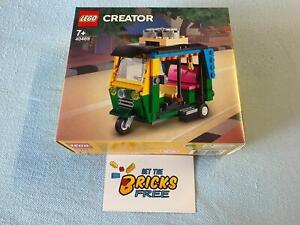 Lego Creator Exclusive 40469 Tuk Tuk New/Sealed/Hard to Find