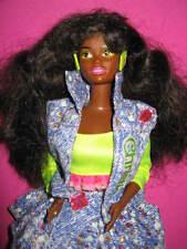 B334-vieja barbie Christie and the Beat #2754 mattel 1990+ joyas completo