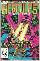 Hercules #4 : December 1982 : Marvel Comics