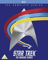 STAR TREK The Original Series Complete BOX 20 BLURAY in Inglese NEW .cp