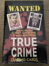 NEW! SEALED! TRUE CRIME 1992 ECLIPSE SERIES 1 Trading Cards Box of 36 packs
