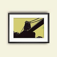 Photo Print - Bristol - Clifton Suspension Bridge - Unique Gift