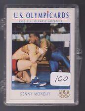 (100) 1992 OLYMPIC HOPEFULS KENNY MONDAY WRESTLING CARDS #106 ~ GIANT LOT OK ST