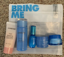 NEW LANEIGE Bring Me Hydrating Trial Kit 5 Piece Travel Size Cleanse-Tone-Mask.