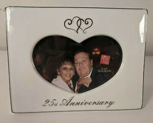 Picture Frame by Russ 25th Wedding Anniversary Heart Love      FEB2020