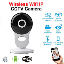 Wireless WiFi HD 720P IP Camera Home Security Network CCTV Night Vision System H