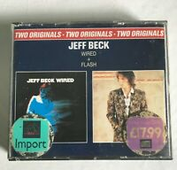 Jeff Beck Two originals , wired + flash , double cd
