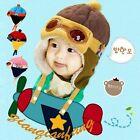 Aviator Girls Boys Pilot Cap Earflap Kids Baby Toddler Hat Warm Winter Beanie