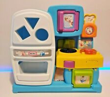 Little Tikes Play Kitchen Discover Sounds Lights Musical Shape Sorter Baby Toy