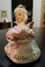 Vintage Poppy Peridot August Birthday Angel