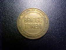 DELAWARE RIVER JOINT TOLL BRIDGE COMMISSION TOKEN!  FREE SHIPPING!  DD75XX