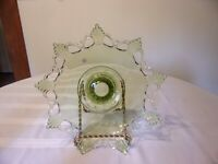 WESTMORLAND GLASS RING AND PETAL BELL BOWL W/ORIGINAL STICKER