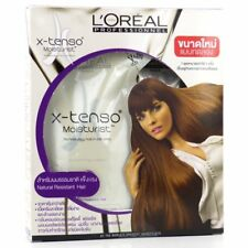 L'Oreal xtenso Straightener Set Straightening Cream Natural Resistant Hair
