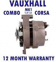 COMBO - CORSA - MK1 MK I - 1.2 1.4 - VAUXHALL 1993 1994 - 2001 ALTERNATOR