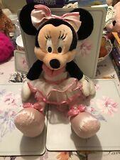 Walt Disney Parks 16 pulgadas bailarina Minnie Mouse Peluche gran condición