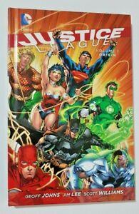 Justice League Vol. 1 Origin Hardcover DC comics With DVD's.
