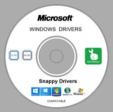 Repair Restore Computer PC DRIVERS DVD for Windows XP Vista 7 8.10 32/64 bit