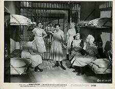 IDA LUPINO JAN STERLING CLEO MOORE WOMEN'S PRISON 1955 4 PHOTOS ORIGINAL LOT