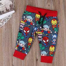 0-3M Infant Newborn Kid Baby Boy Pants Clothe Leggings Toursers Outfits cotton