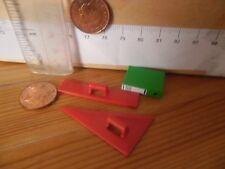 0854 Playmobil 4324 New Spares - Ruler + triangle + Binder