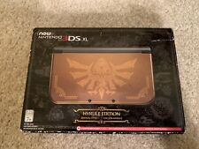 nintendo 3ds xl hyrule edition EMPTY BOX ONLY