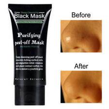 Face Mask Nose Blackhead Acne Pore Deep Remover Cleansing Strip Black Mask Mud ✔