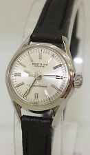 Rare Ladies Stainless Steel 1959 Breitling Transocean Automatic