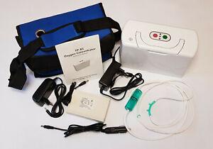 HST Sauerstoffgerät Beamtungsgerät Sauerstoff Konzentrator tragbar 230/12 Volt