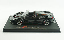 1/18 BBR FERRARI LAFERRARI APERTA NERO DAYTONA BLACK DELUXE BASE LE 10 PC MR
