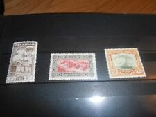 Ships, Boats 3 Number British Colony & Territory Stamps