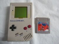 L828 Nintendo Gameboy Console Gray game Japan GB x