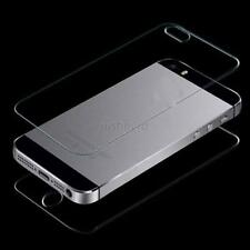 9H Premium HD Tempered Glass Screen Protector Front + Back For iPhone 4/4S J87