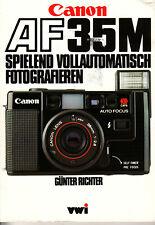 Canon AF-35M  Bedienungsanleitung Günter Richter  Deutsch N.B.244