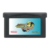 Mega Man Battle Network 4.5 ENGLISH Gameboy Advance GBA Rockman Real Operation