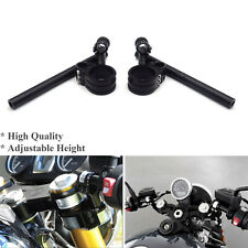CNC Riser Clip on ons & Adjustbale Height handle bar For BMW R NINE T 2014-2019