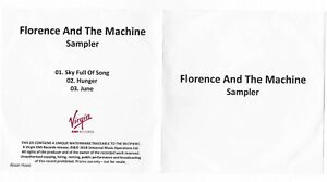 Florence And The Machine - 3 Track Album Sampler (2018) - Virgin EMI Records
