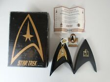 Vintage 1996 Star Trek Fossil 30th Anniversary Pocket Watch with Box & COA