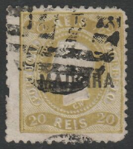 Portugal - 1869,20r Bistre - D'Occasion - Sg 56