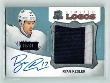 12-13 UD The Cup Limited Logos  Ryan Kesler  /40  Short Print  Auto  Patch