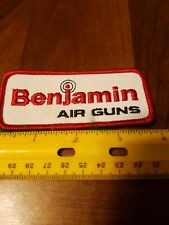 Vintage Benjamin Air Rifle Gun Patch Great For Jacket Coat Hat