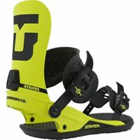 Union - Strata   Mens Snowboard Bindings   Hazard Yellow - Large - 2020